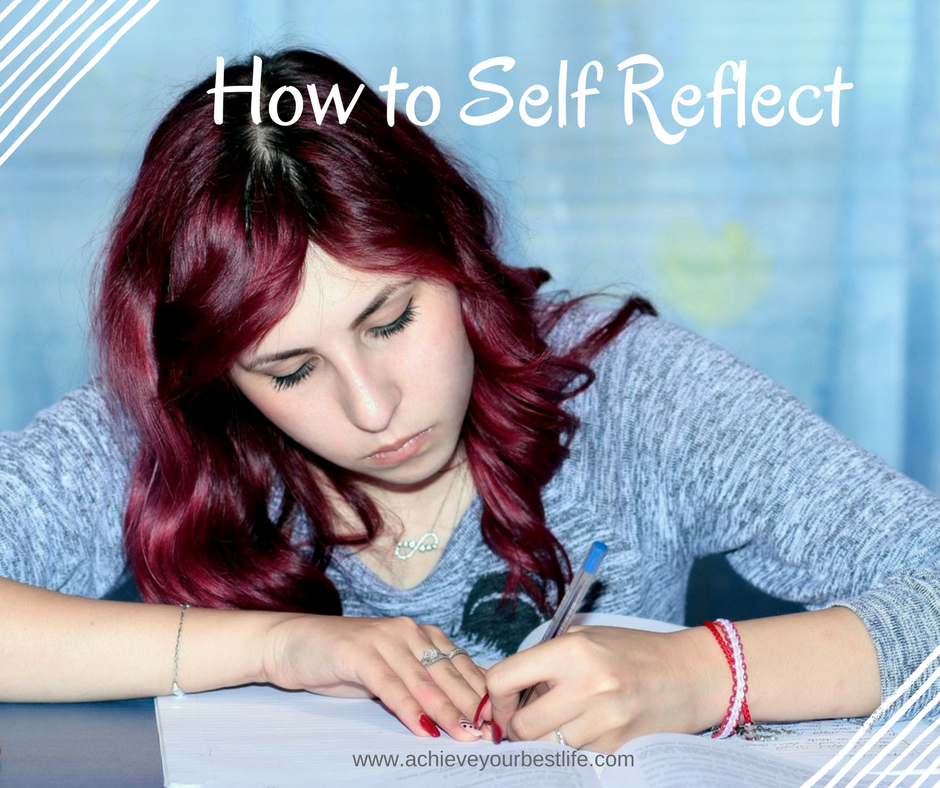 how to self reflect methods to self reflect