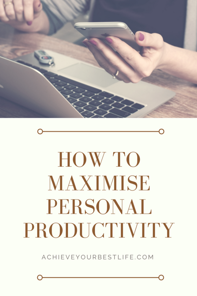 personal productivity improvement