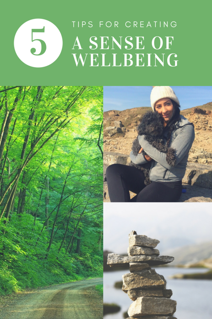 creating a sense of wellbeing