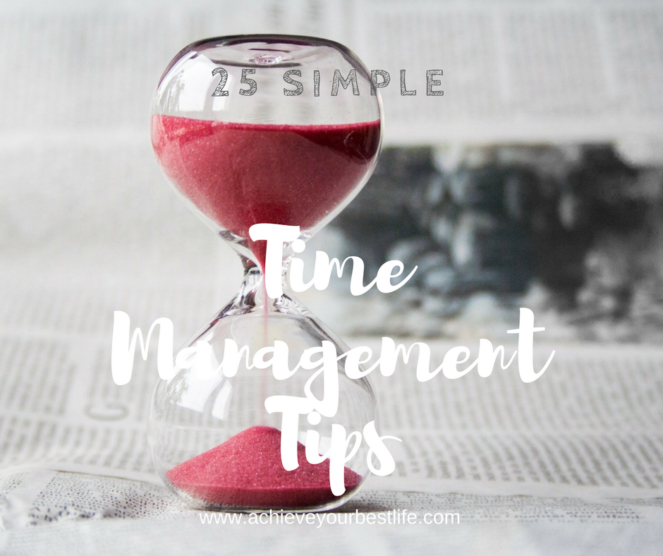 Simple Time Management Tips