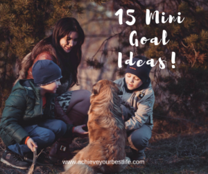 mini goal ideas