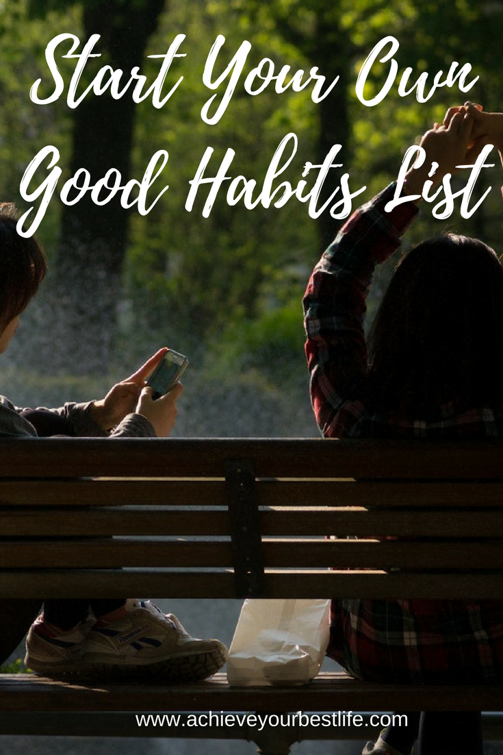 good habits list